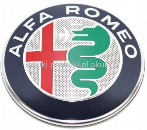 Znaczek Alfa Romeo Giulia Stelvio